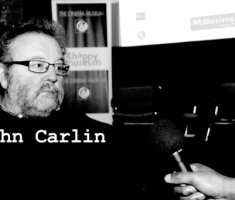 "Millennium Meets - John Carlin- Author of ""invictus"" the book behind the Hollywood Movie ""Invictus"", Cinema Museum, London"