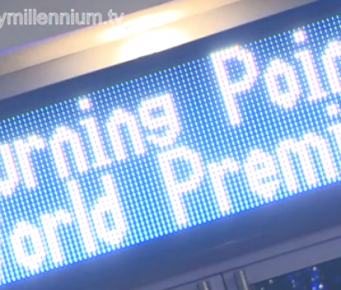 Millennium Entertains - The World Premier of Turning Point at the Indigo 02, London