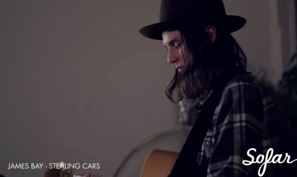 "Millennium Listens: James Bay ""Stealing Cars"" Live at Sofar London"
