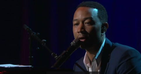 "Millennium Arts: John Legend performs ""Redemption Song"" Live at TED Vancouver"