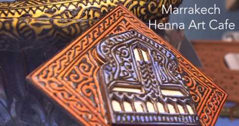Millennium Arts - The Henna Art Cafe in Marrakech, Morocco