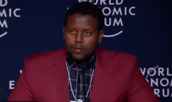 Millennium Discovers - The World Economic Forum: Mohammed Hassan Mohamud - A refugee's story