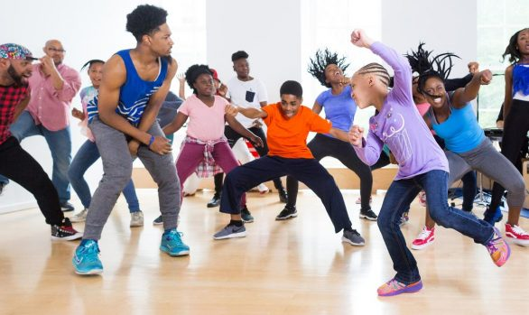Millennium Arts: Camille A. Brown - A visual history of social dance in 25 moves, TED Studio