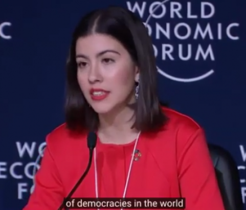 Millennium Discovers - The World Economic Forum: Noura Berrouba - Fixing Democratic Systems