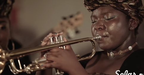 Millennium Stereo - Kokoroko Afrobeat Collective Live at Sofar London