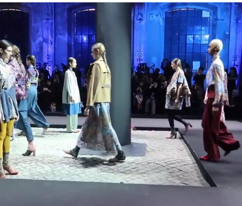 Millennium Lifestyle - Style Icon Nat in Rome: ALTAROMA Fashion Week