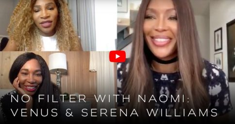 Millennium Lifestyle: Naomi Campbell chats to Venus and Serena Williams