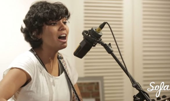 Millennium Stereo: Alisha Pais - performs Up, Live at Sofar Bombay