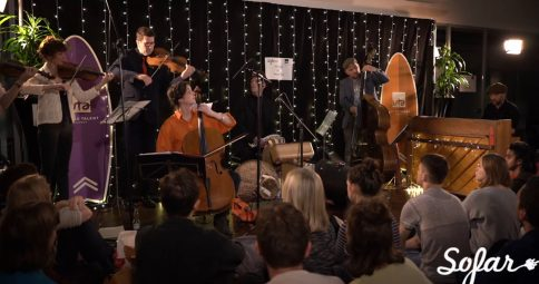 Millennium Stereo: Penguin Cafe - At The Top of the Hill, They Stood... Live at Sofar London