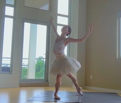 Millennium Arts: Ballerinas worldwide perform at home to support Swans for Relief