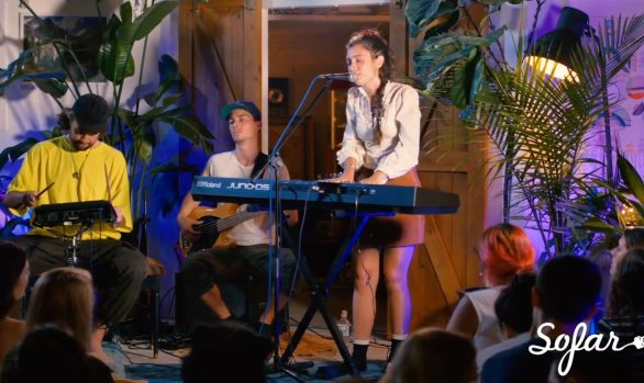 Millennium Stereo: Raina Sokolov-Gonzalez performs Better Half, Live at Sofar NYC