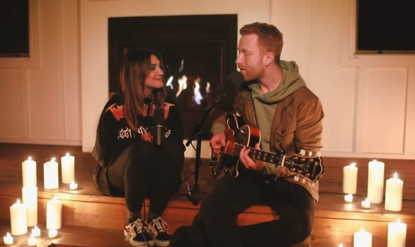 Millennium Stereo: Julia Michaels and JP Saxe perform If The World Was Ending, at home