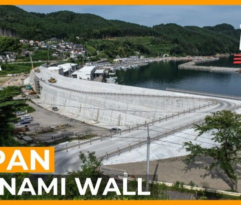 Millennium Discovers: The Great Wall of Japan - The Tsunami Wall