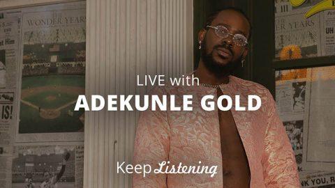 Adekunle Gold performs Live
